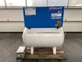 compressors Grassair K1 Silent 1.5 kW 160 L / min 8 Bar Olievrije Schroefcompessor met ketel 2013