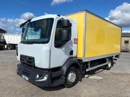 closed box truck Renault Gamme D 2016