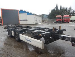 container chassis semi trailer Krone veksellads kærre 2014