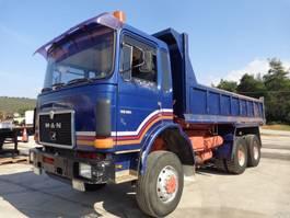 tipper truck > 7.5 t MAN MAN 33.361 (6X6) 1987