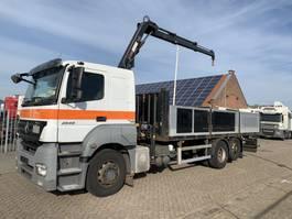 crane truck Mercedes-Benz Axor 2540 AXOR 2540 6x2 Hiab 088 3-pedals 2008