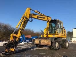 wheeled excavator Komatsu PW148 - 10 2016