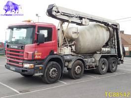 concrete mixer truck Scania 114 380 Euro 3 2000