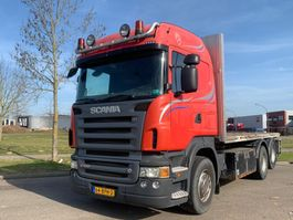 crane truck Scania R580-V8 Scania R580 6x2 2006