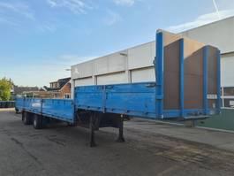 semi lowloader semi trailer Groenewegen Semi Dieplader Full Steel 1982