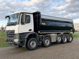 tipper truck Mercedes-Benz Arocs 4745-K 10x4 - Euro 6 - 22m3 HYVA Isolated Tipper - Hydraulic cover -NEW