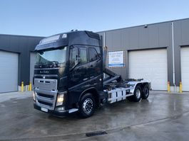 container truck Volvo FH16.600 6X2 HAAKSYSTEEM EURO6 2013