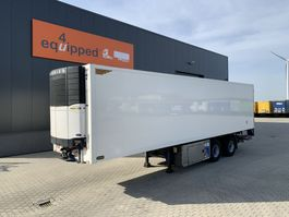 refrigerated semi trailer Pacton 2-axle rcity-eefer, Carrier Vector 1850 D/E, taillift 2.500kg, NL-trailer, APK: 11/2021 2007