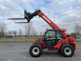 Starrer Teleskoplader Manitou MHT 860 L / AIRCO / HYDR. FORKS / TOP CONDITION 2011