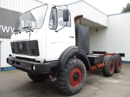 chassis cab truck Mercedes-Benz Fap 2026 , 6x6 , spring susp. 1986