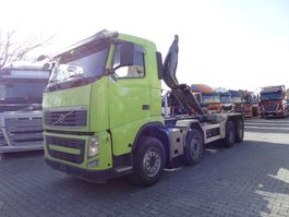 swap body truck Volvo FH13 460 8X4 HAKEN 2011