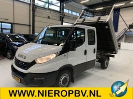 Pritschenwagen offen Iveco 35S12 Daily Kipper Dubb Cabine Airco 3500KG Trekhaak 6+1 Pers Nieuw 2021