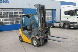 forklift Jungheinrich DFG 425S / 2,5 Ton / Diesel / Side-shift / fork positioner /Triplex 2013