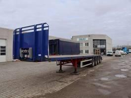 drop side semi trailer Kel-Berg 7.5 m udtræk 2014