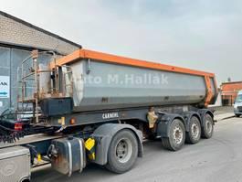 tipper semi trailer Carnehl CHKS 24 m³ Stahl / Stahl Mulde Luft/Lift 2008