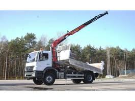 tipper truck > 7.5 t Mercedes-Benz Axor 1829 FASSI 110 BORDMATIK KRAN CRAN 2009