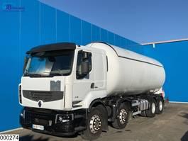 tank truck Renault Lander 410 Dxi 8x4, 34753 liter LPG, Manual, Steel suspension 2009