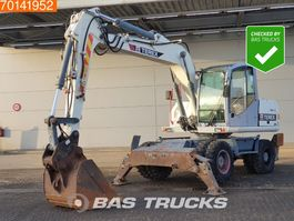 wheeled excavator Terex TW170 4 OUTRIGGERS - NICE AND CLEAN MACHINE 2007