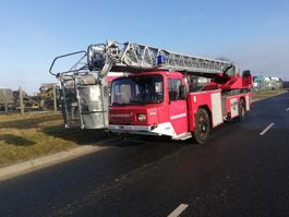 Feuerwehrauto Magirus Deutz 256 M 12 F.