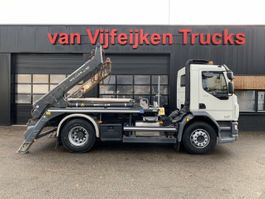 container truck DAF LF 320 4X2 - PORTAL CONTAINERSYSTEM - MANUAL EURO 6 2017