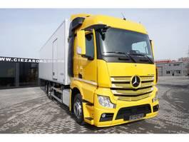 refrigerated truck Mercedes-Benz Actros 2542 , E6 , 6x2 , 22 EPAL , Side door , lift axle , Carri 2017