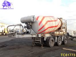 concrete mixer semi trailer Renders Mix Concrete Mixer 2011