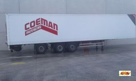 closed box semi trailer Pacton box-oplegger