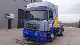cab over engine MAN 19.403 (6 CYLINDER ENGINE WITH ZF-GEARBOX / PTO / EURO 2) 1997