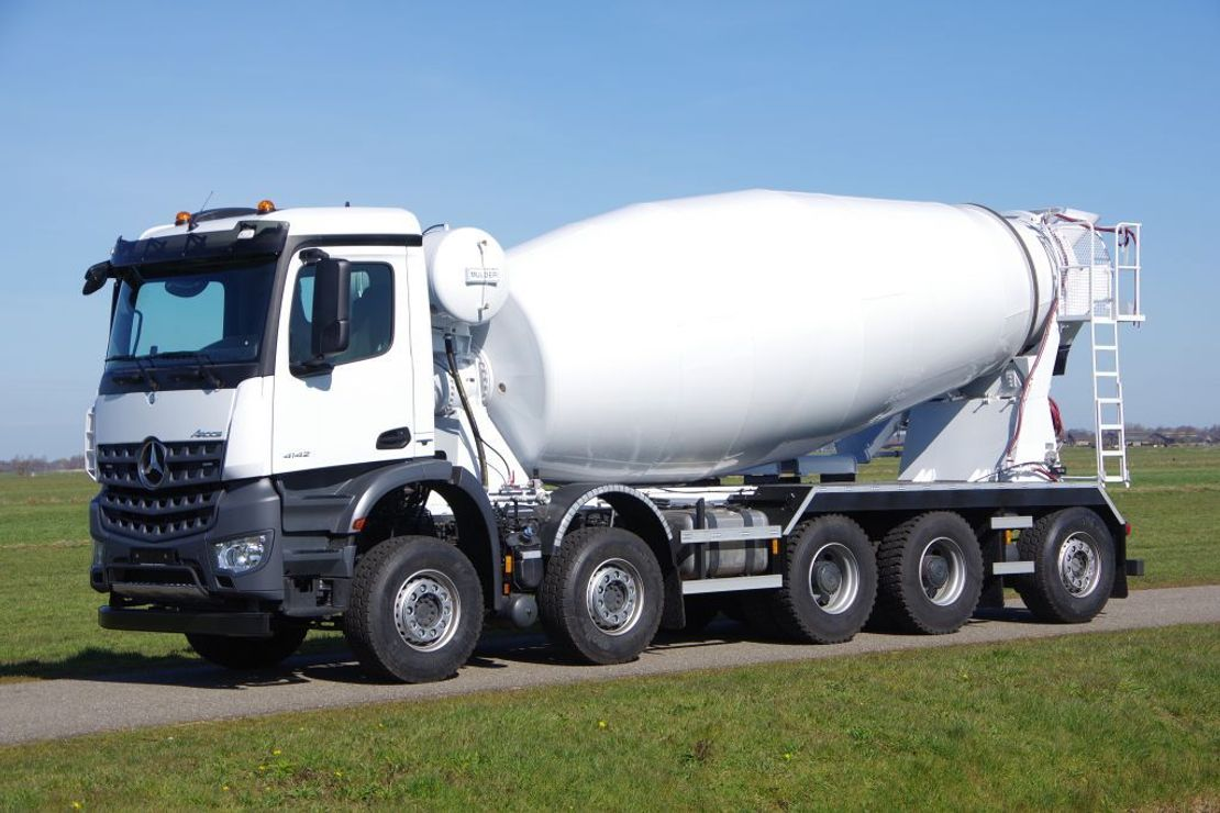 Betonmischer-LKW Mercedes-Benz Arocs 4942-B 10x4 - Euro 6 - 15m3 Mulder Concrete Mixer  - NEW 2020