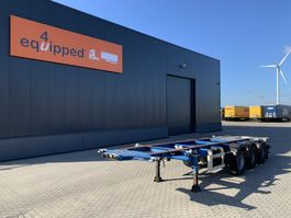 container chassis semi trailer LAG 20FT/30FT, BPW, ADR (EXII, EXIII, FL, OX, AT), NL-CHASSIS 2007
