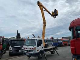 bucket truck lcv Nissan CABSTAR 35-11 + SEQUANI AERIAL PLATFORM 20 METER 2012
