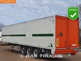 walking floor semi trailer Stas S300ZX 75m3 6mm Floor 3 axles Top Condition! 2011