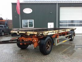 container chassis trailer Ackermann Container aanhanger
