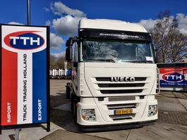 chassis cab truck Iveco AS260S42Y/FP-GV Stralis 6x2 | Eurotronic + Intarder | Euro5 | NL Truck 2008