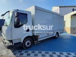 closed box truck Renault Midlum 220.12 2011