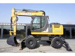 wheeled excavator Case WX 148 , 16.5t , 3000 MTH !!! Triple Boom , joystick , blade , s 2014