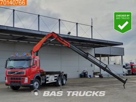 container truck Volvo FM12-340 6X2 Palfinger PK15500 Remote Liftachse 2003