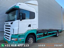 swap body truck Scania R310 / Manual / 479 DKM !!! / BDF / Tail Lift / Old Tacho / TUV:8-2021 / NL T... 2005