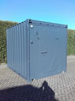reefer-refrigerated shipping container ABB 10ft geisoleerd
