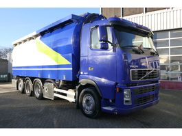 feed truck Volvo FH12-420 8X4 TRIDEM SILO + 20 FT CONTAINER 2004