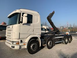 tipper truck > 7.5 t Scania R124-470 R124.470  8x2 Euro3 2004