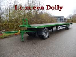 drop side full trailer Jumbo & Draco Vrachtwagen Aanhangwagen T.b.v. Langzaam Verkeer Open, 2 Stuks
