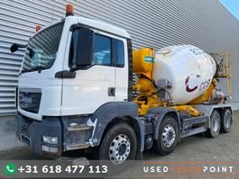 concrete mixer truck MAN TGS 35.360 / 8X4 / Automix 8.5 m3 / Manual / Full Steel / Big Axle / Euro 5 ... 2010