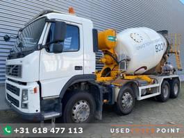 concrete mixer truck Volvo FM 370 / 8X4 / Automix 8.5 m3 / Manual / Full Steel / Big Axle / Euro 5 / Belgi... 2010