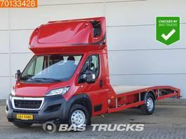 loading ramp - car transporter lcv Peugeot Boxer 2.0 Blue HDI 163PK Autotransporter Lier Airco Euro6 Oprijwagen A/C Towbar 2018