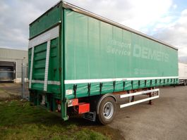 sliding curtain semi trailer Flandria 1 As Oplegger Schuifzeil, OS-09-GN 1993