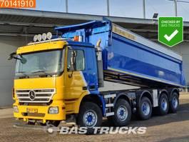 tipper truck > 7.5 t Mercedes-Benz Actros 5044 K 10X4 NL-Truck Big-Axle Lift+Lenkachse 3-Pedals Euro 5 2008