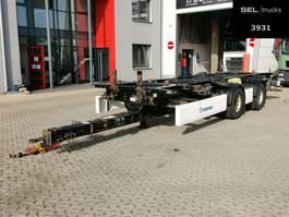 swap body trailer Krone ZZ / SAF Achsen / Tandem / German