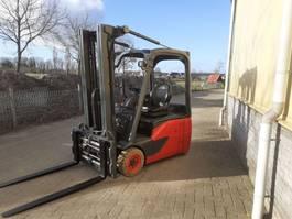 forklift Linde e16/02 heftruck elektrische met lepelversteling 2015