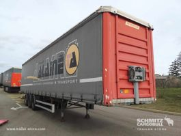 mega-volume semi trailer Fruehauf Semitrailer Rideaux Coulissant Mega 2009
